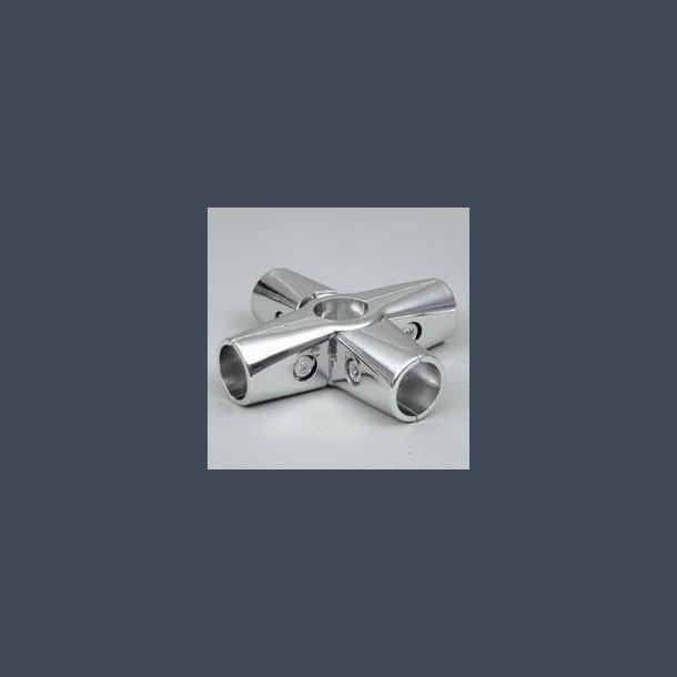 Rørjoint 32mm X + lodret 32mm - 6-vejskobling