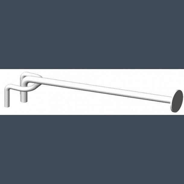 Varekrog Enkeltkrog 6mm skinne - prisskive Ø27