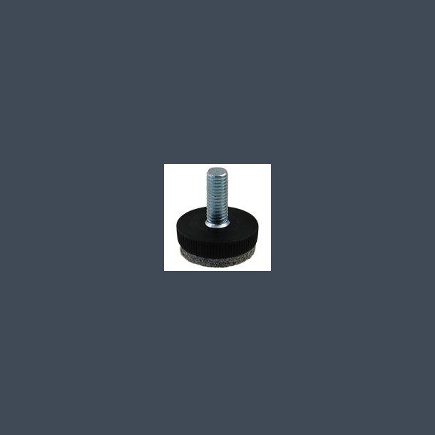 Stilleskrue med vibrationssvejst filt