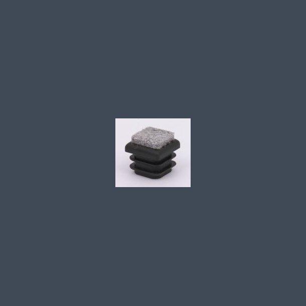 Prop firkantet med filt