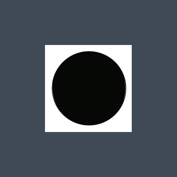 Werzalitbordplade sort Ø 80cm