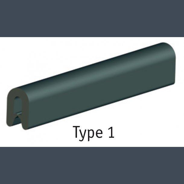 PVCkant for stålplader