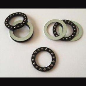 Kugleleje - axial kugellager - thrust ball bearing